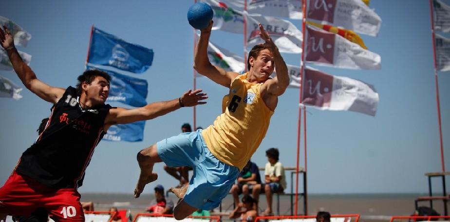 El Cóndor fue sede del Circuito Patagónico de Beach Handball