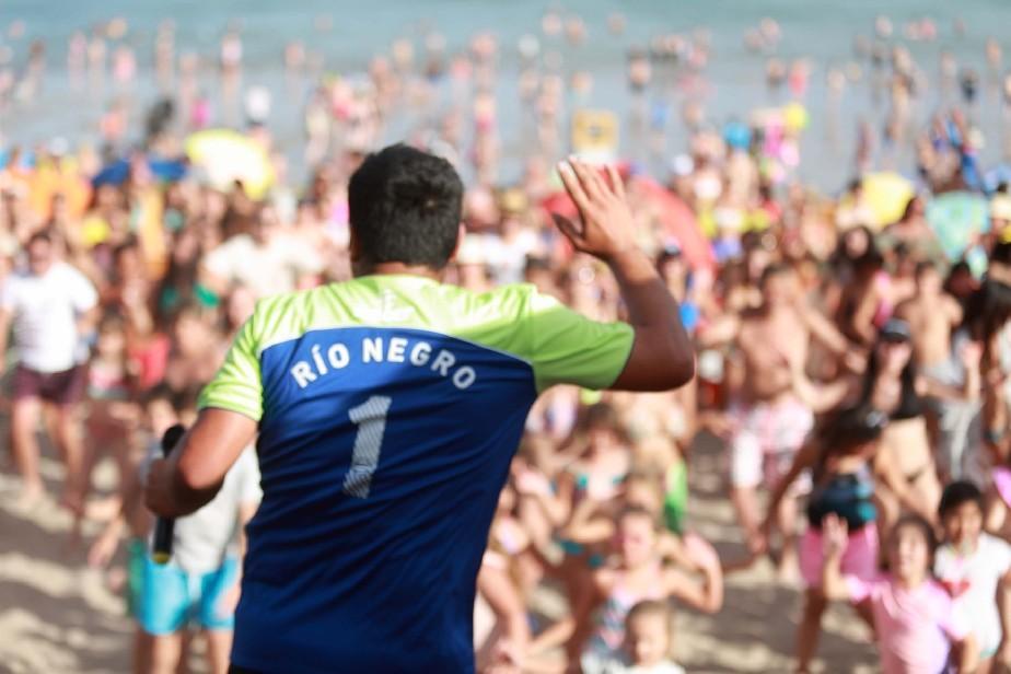 Enero a pleno: 350.000 turistas disfrutaron de la agenda recreativa en los destinos rionegrinos