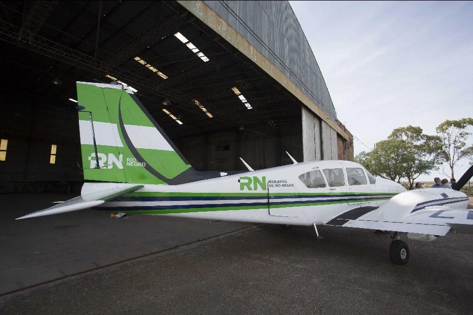 Está en servicio el nuevo avión sanitario de la Provincia