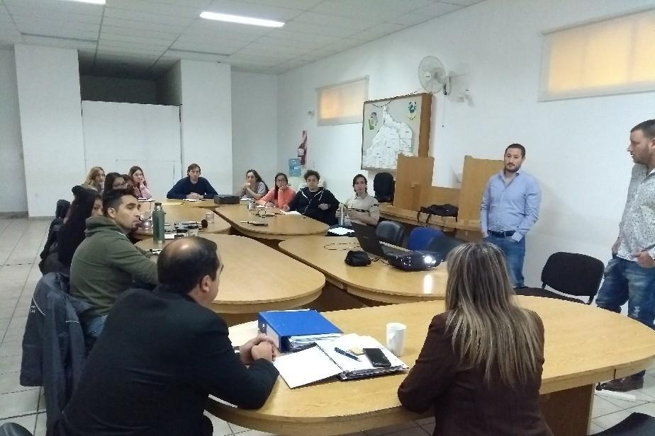 Inspectores en seguridad e higiene de Río Negro participan en jornadas de capacitación