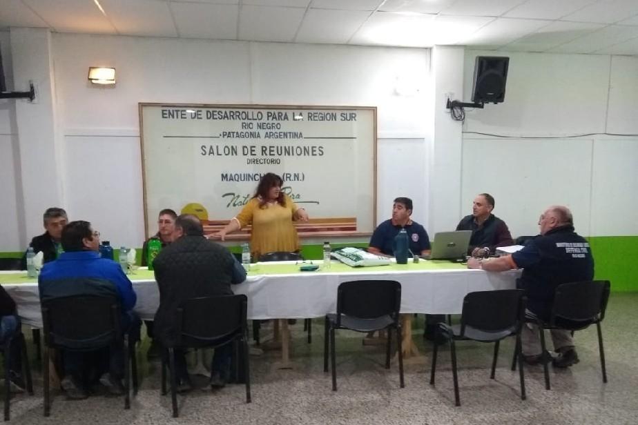 Río Negro se prepara ante posibles emergencias climáticas en la Zona Sur
