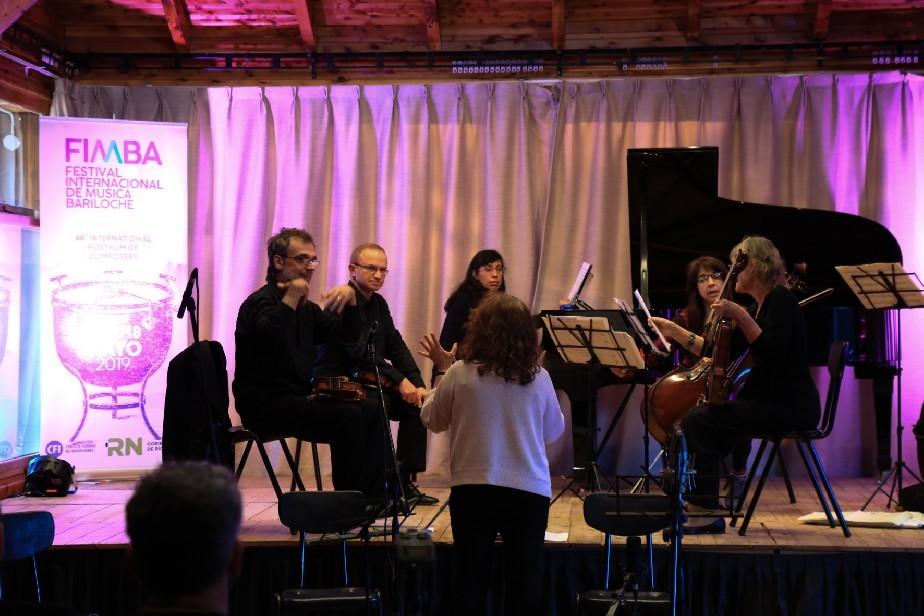 Por primera vez, la Camerata Bariloche impregnó con sus acordes el emblemático camping musical