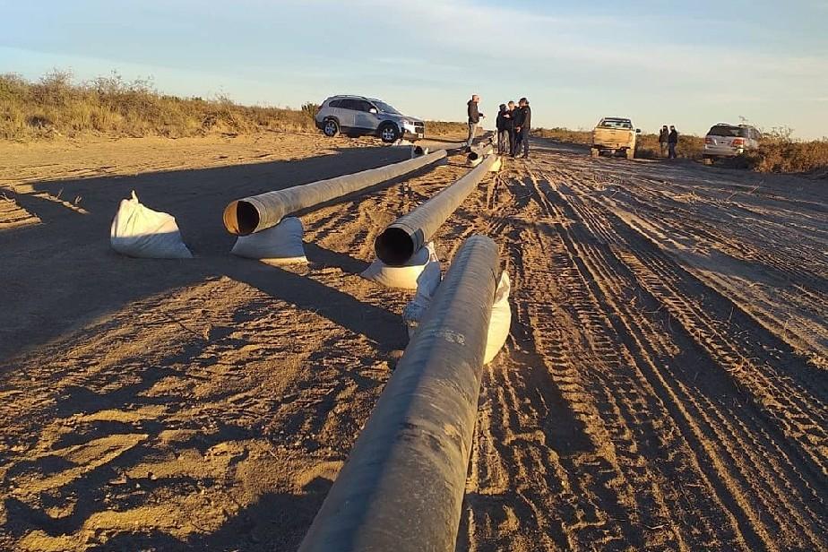 Comienzan a soldarse los caños del Gasoducto de la Región Sur