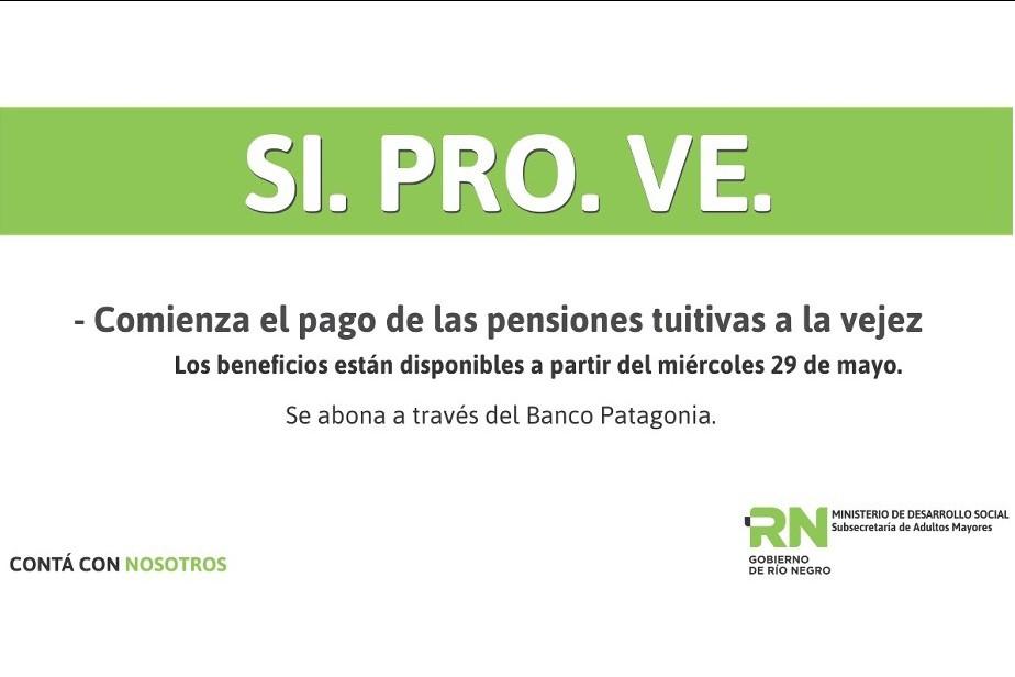 Inicia el pago para beneficiarios del programa SI.PRO.VE