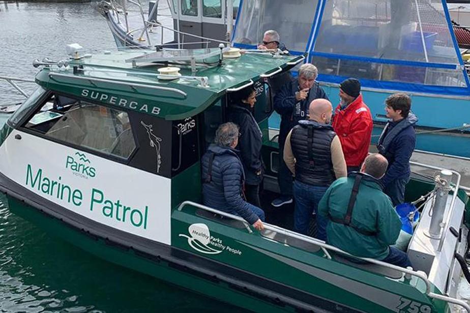 Técnicos pesqueros rionegrinos se instruyeron sobre Áreas Marítimas protegidas en Australia