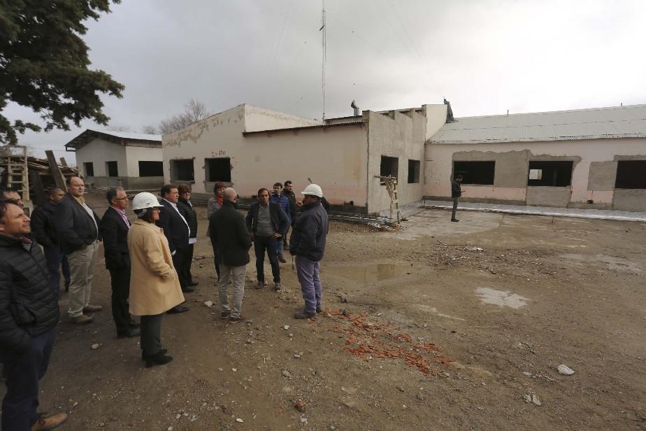 Antes de fin de año la histórica Escuela 232 de Huergo tendrá su nuevo edificio