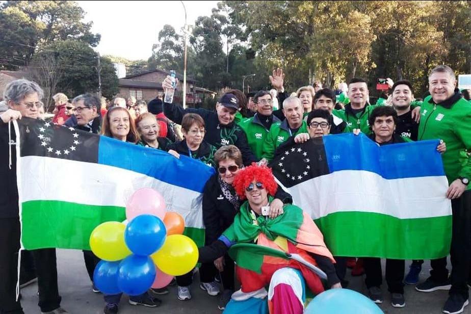 Juegos Evita: los adultos mayores disfrutan en Pinamar