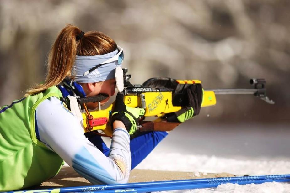 Juegos Nacionales de Invierno: Río Negro se adueñó de los podios de biathlon