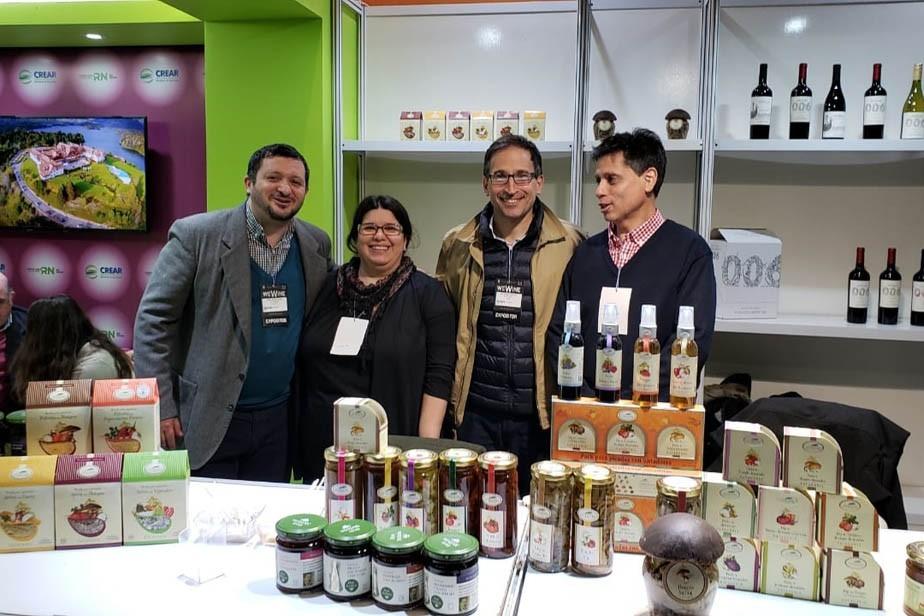El país conoce vinos rionegrinos en la Expo We Wine
