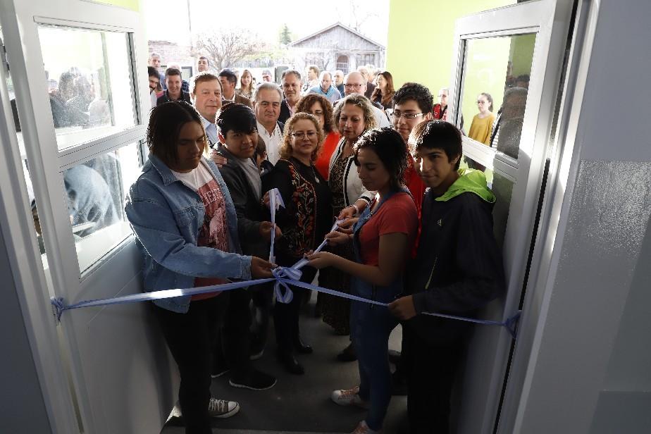 Pomona, de fiesta: se inauguró el nuevo edificio de la ESRN 139