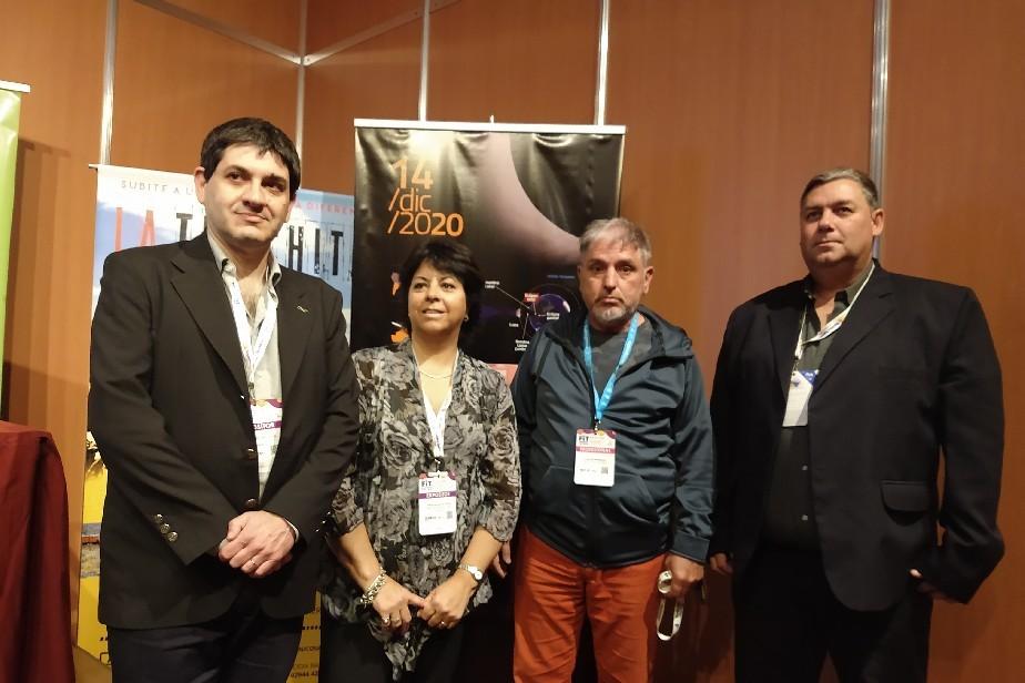 Río Negro presentó sus novedosos productos en la FIT