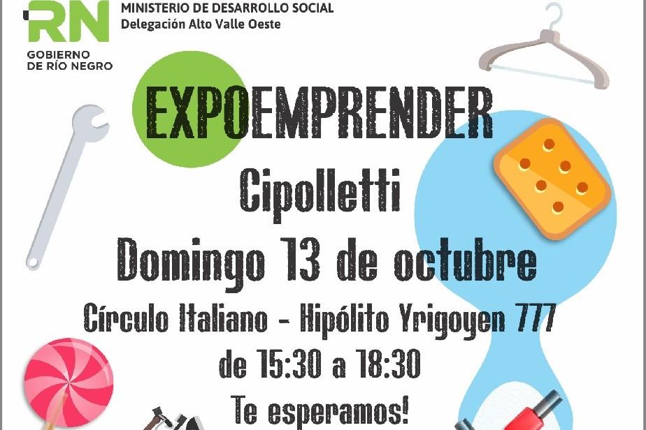 Cipolletti expone lo aprendido en los talleres de oficio Emprender