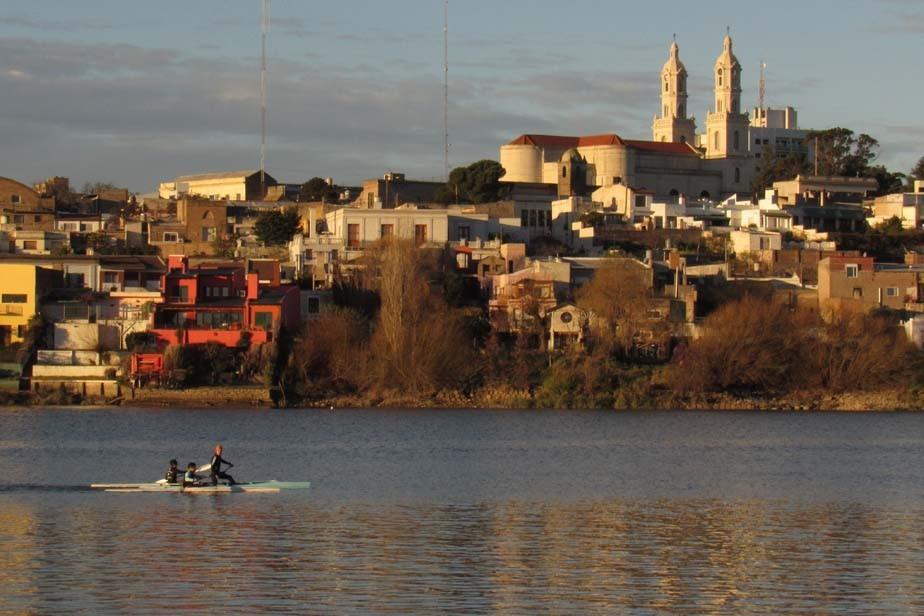Histórico: Viedma será sede del primer Panamericano de canotaje maratón