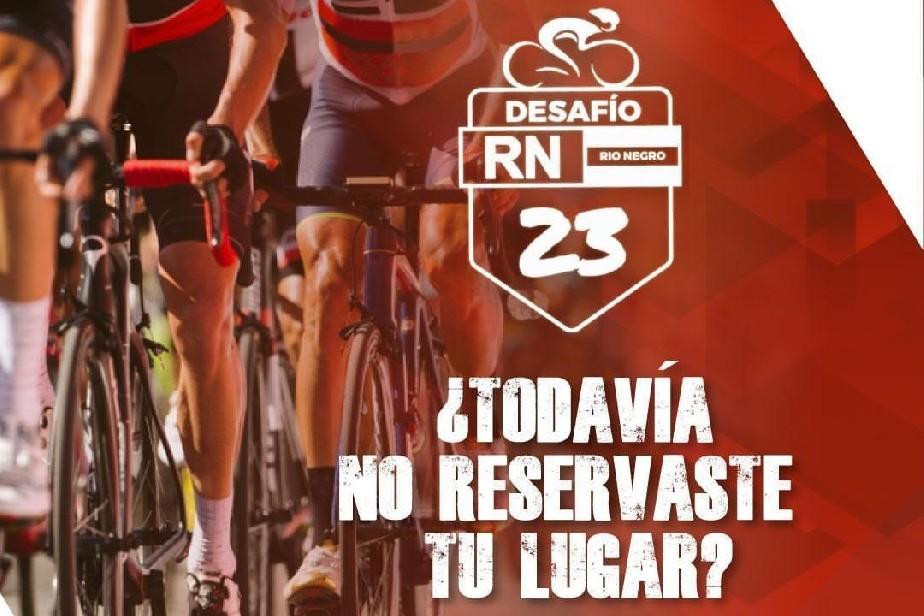 Río Negro palpita el desafío de ciclismo en la Ruta 23
