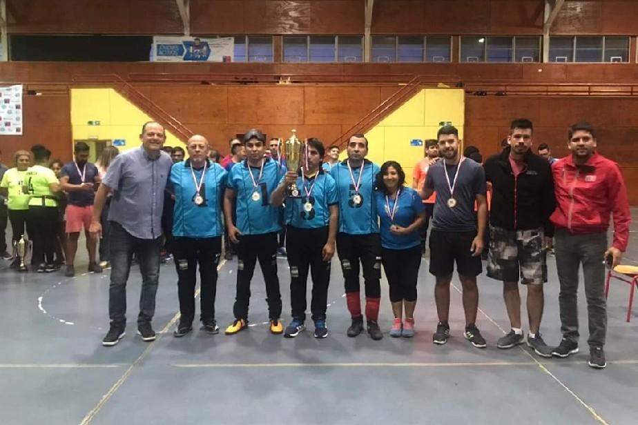 El equipo de Goalball de Río Negro obtuvo el segundo puesto en Chile