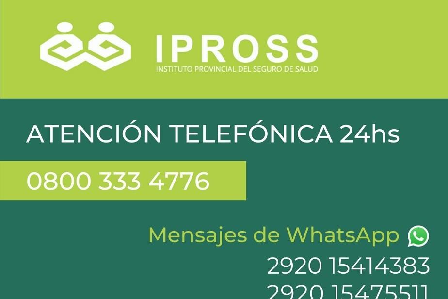 IPROSS habilita nuevas líneas de contacto a través de mensajes e inicio de trámites online