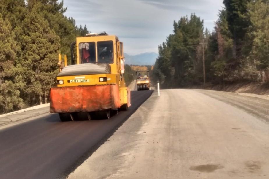 La pavimentación de la ruta provincial 86 alcanzó el 70 % de avance