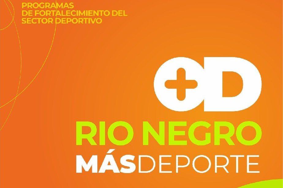 Río Negro Más Deporte: capacitación en gestión deportiva otorgará puntaje docente
