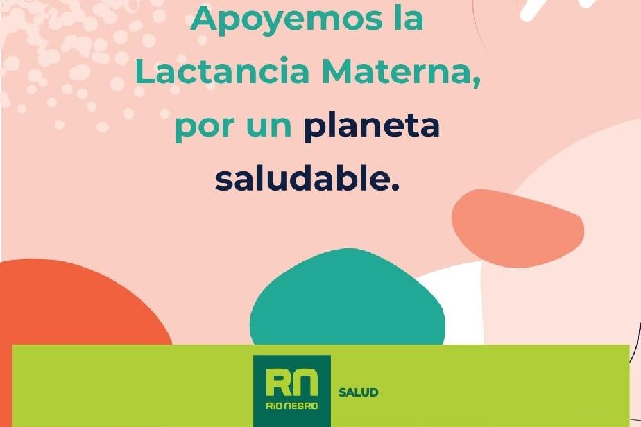 Río Negro adhiere la Semana Mundial de la Lactancia Materna