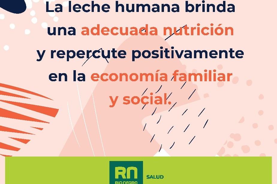 Río Negro ratifica la promoción de la Lactancia Materna como un derecho de salud