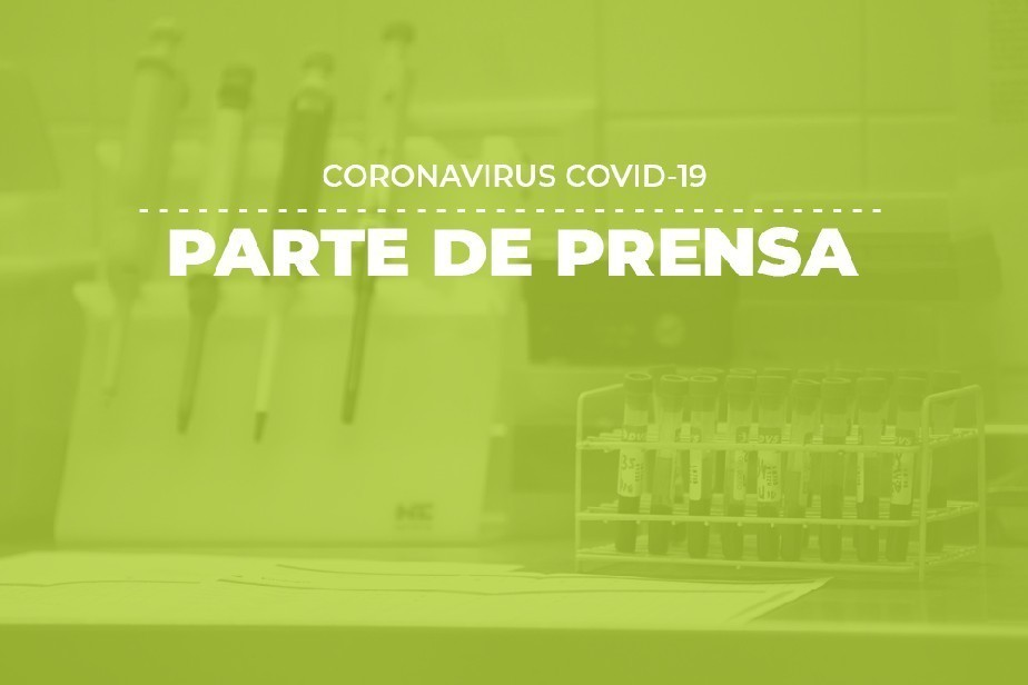 COVID-19: Parte de prensa (26/07)