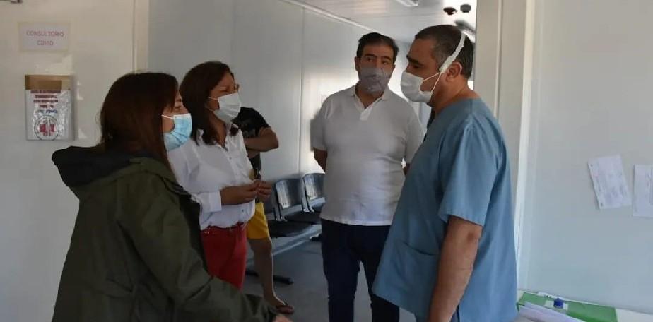 Carreras anunció que el lunes 18 se inaugurará el nuevo hospital de Las Grutas