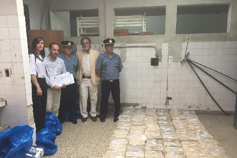 Fueron incinerados más de 520 kg. de drogas incautados en el Alto Valle durante el último mes