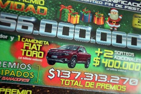 Lotería de Río Negro fiscalizará el Sorteo del Gordo de Navidad