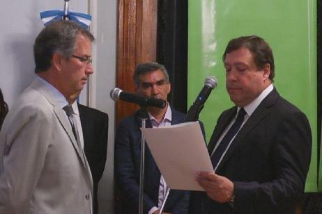 Imagen-Weretilneck tomó juramento al nuevo Procurador General