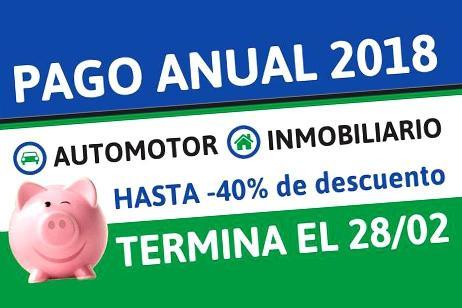 Imagen-Hasta el 28 de febrero se puede pagar con el descuento de hasta 40%