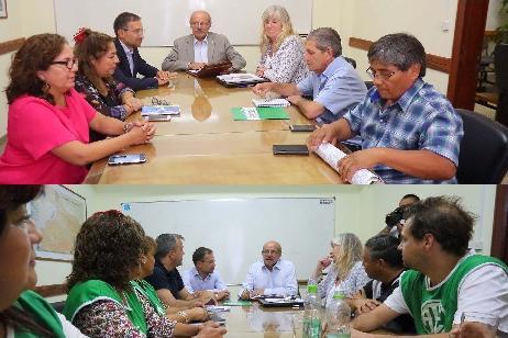 Imagen-El Gobierno inició ronda de diálogo con UPCN y ATE para analizar pautas salariales y empleo público