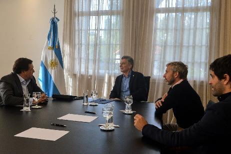 El Gobernador Weretilneck fue recibido por el Presidente Macri en Buenos Aires
