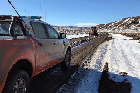 El Gobierno Provincial sigue trabajando en las zonas más afectadas por el temporal