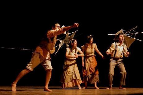 Teatreros rionegrinos itinerantes de gira por los valles