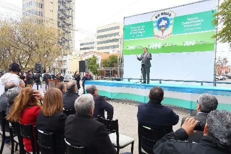 Con la integración como principal distintivo, Río Negro festejó sus 63 años como Provincia
